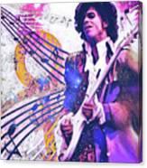 The Purple One Canvas Print