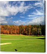 The Putting Green Canvas Print