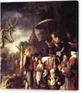 The Quack 1652 Canvas Print