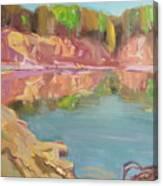 The Quarry Canvas Print