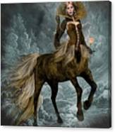 The Queen Horse Canvas Print
