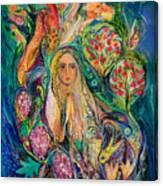 The Queen Of Shabbat Canvas Print