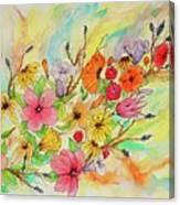 The Queens Garden Canvas Print