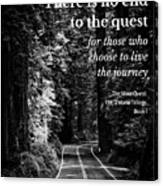 The Quest I Canvas Print