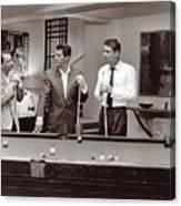 The Ra Pack Sammy Davis Jr, Frank Sinatra Dean Martin Canvas Print