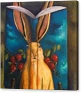 The Rabbit Story Canvas Print