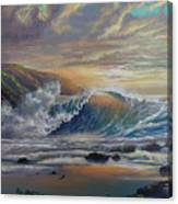 The Radiant Sea Canvas Print