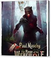 The Rage Of The Werewolf - Version 3 - Canvas Print
