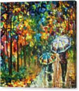 The Rain Of Childhood Canvas Print