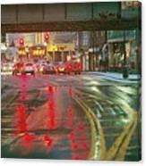 The Rain Painting Canvas Print