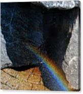 The Rainbow Fountain 3-5 Canvas Print