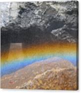The Rainbow Fountain 5-5 Canvas Print
