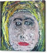The Rajah's Grand-daughter Canvas Print
