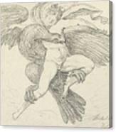 The Rape Of Ganymede Canvas Print