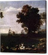 The Rape Of Opa  Canvas Print