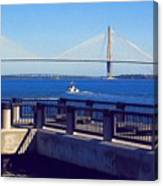 The Ravenel Bridge Canvas Print