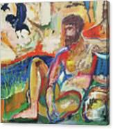 The Ravine Canvas Print