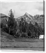 The Real Alaska -the Good Life Canvas Print