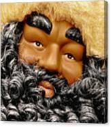 The Real Black Santa Canvas Print