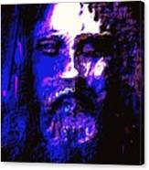 The Real Face Of Jesus Canvas Print