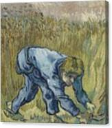 The Reaper After Millet Saint Remy De Provence, September 1889 Vincent Van Gogh 1853  1890 Canvas Print