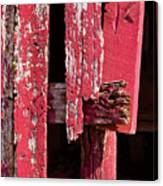 The Red Barn 4 Canvas Print