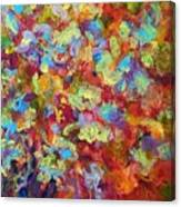 The Red Bouquet Canvas Print