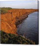 The Red Cliffs Of Prince Edward Island Canvas Print