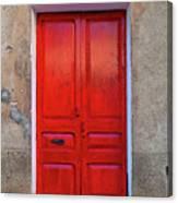 The Red Door. Canvas Print