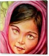 Brown Eyes Canvas Print