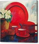 The Red Still Life Canvas Print