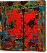 The Red Tree -or- Paint Canvas Print