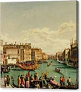The Redentore Feast In Venice Canvas Print