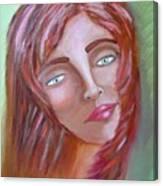 The Redhead Canvas Print