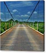 The Regency Bridge 3 Canvas Print