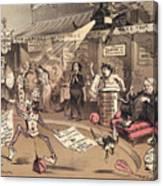 The Religious Vanity Fair Canvas Print