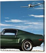 The Rendezvous - 1968 Mustang Fastback Canvas Print