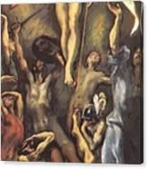 The Resurrection 1600 Canvas Print