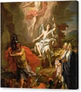 The Resurrection Of Christ Canvas Print