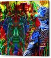 The Return Of The Adamastor  Canvas Print