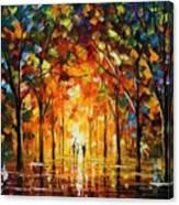 The Return Of The Sun Canvas Print