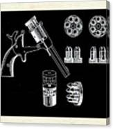 The Revolver Canvas Print