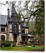 The Rhine House Of Napa Valley Canvas Print