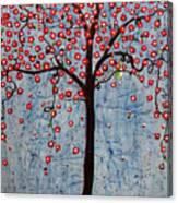 The Rhythm Tree Canvas Print