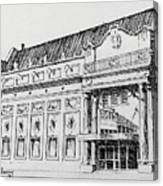 The Rialto Theater Deer Lodge Montana Canvas Print