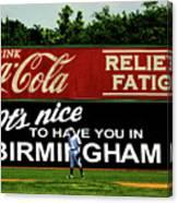 The Rickwood Classic - Birmingham Alabama Canvas Print