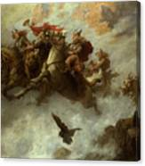 The Ride Of The Valkyries  Canvas Print