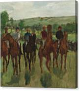 The Riders, 1885 Canvas Print