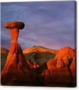 The Rim Rocks Canvas Print