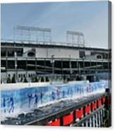 The Rink At Wrigley Canvas Print